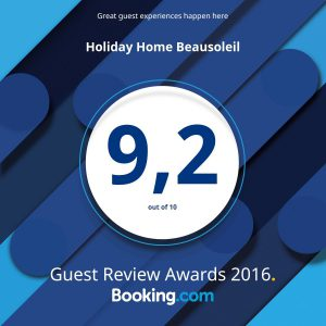 Booking award 2016